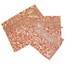 Safia Lingerie Envelopes in Sari Flowers Tomato