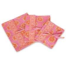Safia Lingerie Envelope in Delhi Blooms Tangerine