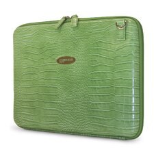 Women's TechStyle Portfolio in Faux Croc Green
