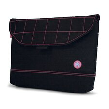 SUMO Nylon Sleeve in Black with Pink Stitching