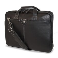 <strong>Mobile Edge</strong> Deluxe Leather Laptop Briefcase