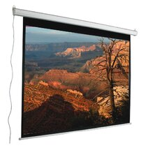 "Aspect Ratio Matte White 100"" Electric Projection Screen"