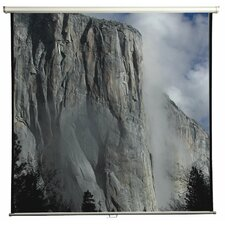 "Matte White 84"" Manual Projection Screen"