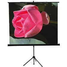 "<strong>Mustang</strong> 60"" x 60"" Tripod Screen in Matte White"
