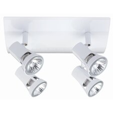 Halogen 230V Teja 4 Light Ceiling Spotlight