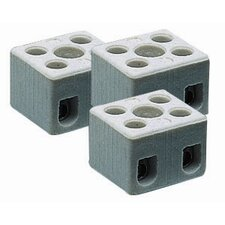 Safety Ceramic Luster Terminal (Set of 3)