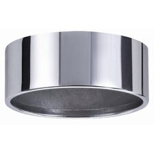 Micro Line Furniture IP44 Mounting Ring Downlight in Chrome