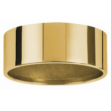 Micro Line Furniture IP44 Mounting Ring Downlight in Gold