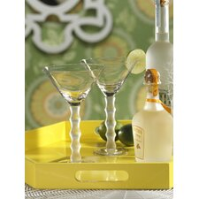 Bamboo Design Martini Glass (Set of 8)