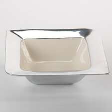 Aluminum Tray with Three Bowls