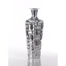 Barclay Butera Casablanca Embossed Aluminum Vase
