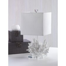 """21"""" H Table Lamp with Square Shade"""