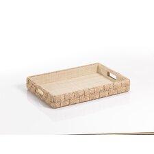 Abaca Rope Rectangular Serving Tray