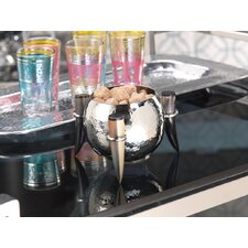 Barclay Butera Casablanca Nut Bowl with Horn Handles