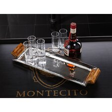 Barclay Butera Montecito Rectangular Serving Tray with Resin Handles