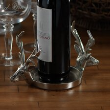 Reindeer Pillar Holder / Wine Coaster
