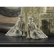Ancient Ming Huang Empresses Statue (Set of 2)