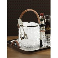 Barclay Butera Equestrian Ice Bucket Leather Handle