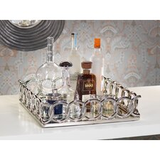 Chain Link Square Serving Tray