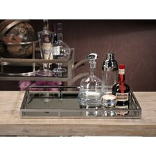 Mirrored Rectangular Serving Tray