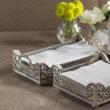 Fret Motif Dinner Napkin Holder