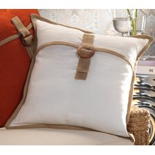 Mauritius Linen and Jute Throw Pillow (Set of 2)