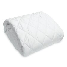 Washable Cotton Fitted Mattress Pad
