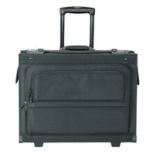 "14"" Nylon Hardsided Rolling Laptop Catalog Case"