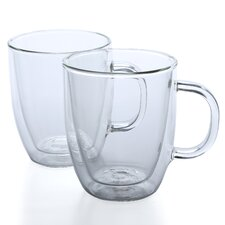 Bistro 15 oz Mug (Set of 2)