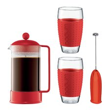 4 Piece Coffee Maker Set