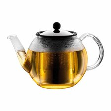 Shin Cha 1.06-qt. Tea Press with Handle and Spout and Infuser