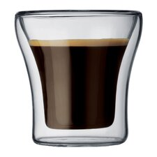 Assam 3 oz. Double Wall Shot / Espresso Glasses