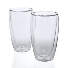 Pavina 15 oz Double Wall Insulated Glass (Set of 2)