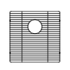 "<strong>Julien</strong> 16"" x 16"" Electropolished Grid for Kitchen Sink Bowl"