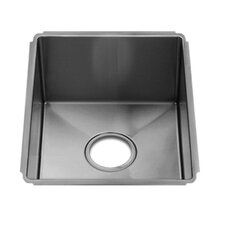 "J7 13"" x 17.5"" Undermount Single Bowl Kitchen Sink"