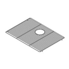 "22"" x 16"" Electropolished Grid for Kitchen Sink Bowl"