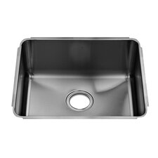 "Classic 19"" x 17.5"" Single Bowl Kitchen Sink"