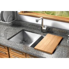 "UrbanEdge 32"" x 19.5"" Undermount Double Bowl Kitchen Sink"