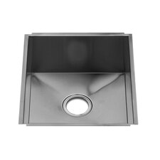 "UrbanEdge 19.5"" x 16"" Undermount Single Bowl Kitchen Sink"