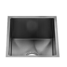 "<strong>Julien</strong> J7 15.5"" x 13"" Single Bowl Undermount Specialty Kitchen Sink"