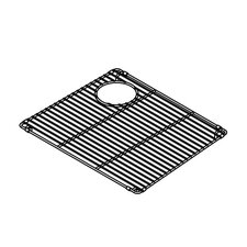 "<strong>Julien</strong> Trapezoid 18"" x 15"" Electropolished Grid for 19''x16'' Sink Bowl"
