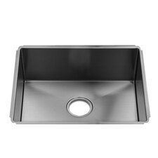 "J7 22"" x 17.5"" Undermount Single Bowl Kitchen Sink"