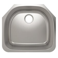 "<strong>Julien</strong> Contour 21.25"" x 18.75"" Undermount Kitchen Sink"