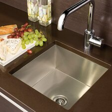 "<strong>Julien</strong> UrbanEdge 13"" x 13.5"" Undermount Single Bowl Specialty Kitchen Sink"