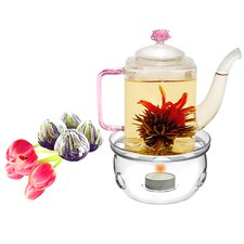 Romeo 0.53-qt. Fab Flowering Tea Set
