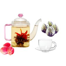 <strong>Tea Beyond</strong> Romeo Fab Flowering Tea Set
