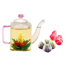 <strong>Tea Beyond</strong> Romeo Jasmine Fab Flowering Tea Set