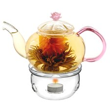 <strong>Tea Beyond</strong> Juliet Teapot with Tea Warmer Cozy