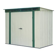 EuroLite 8.5 Ft. W x 4.5 Ft. D Steel Lean-To Shed