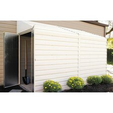 Yardsaver 4ft. W x 10ft. D Steel Storage Shed